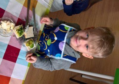 Zdrowe zielone kanapki :)
