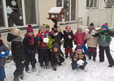 Wicherkowe zabawy na śniegu :)