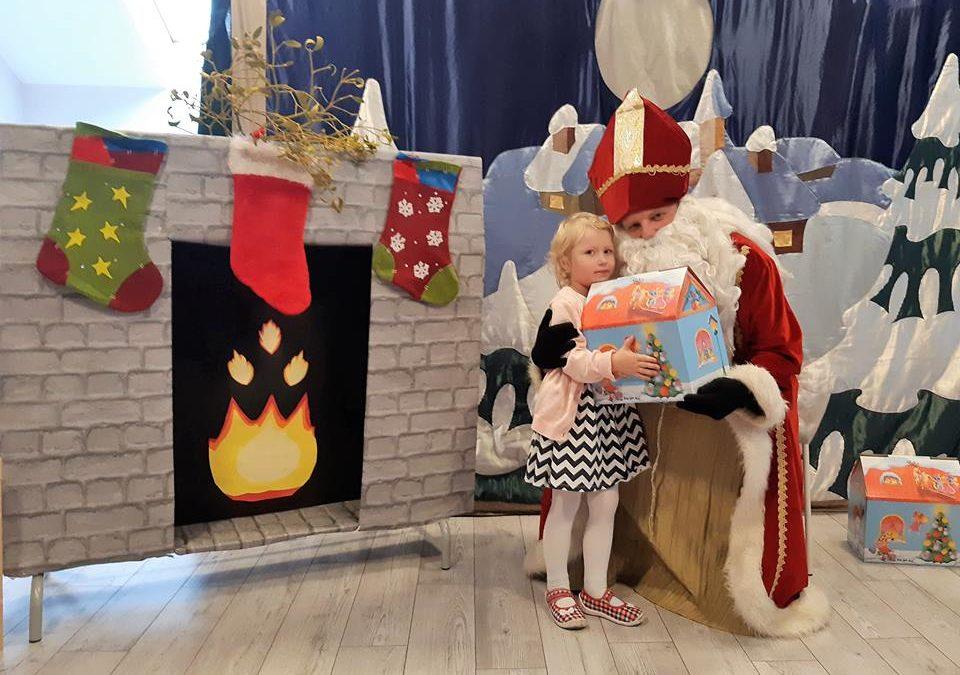Odwiedziny Świętego Mikołaja :)