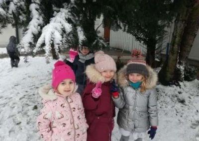 Harce na śniegu – Sówki i Jeżyki