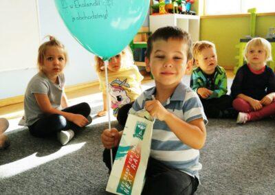 Urodziny i zabawy na placu zabaw :) Grupa Sówki