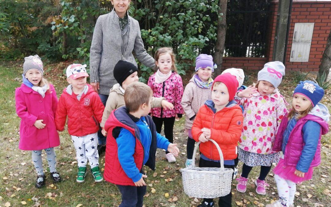 Jesienny spacer- Grupa Sówki