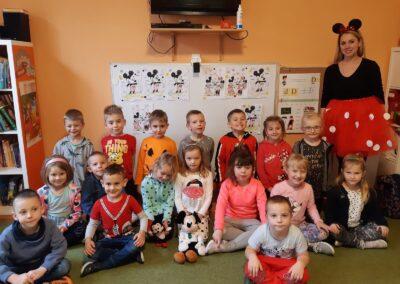 Dzień Myszki Miki u starszaków i średniaków