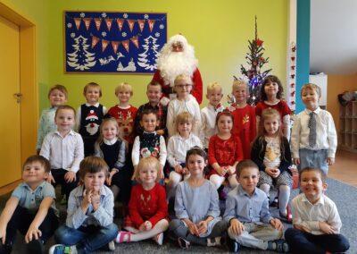 Spotkanie ze Świętym Mikołajem w Grupie Gwiazdki