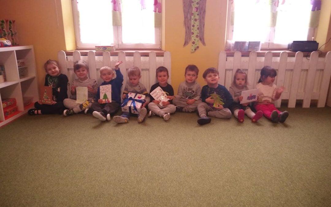 Kartki świąteczne dla Natalki :)